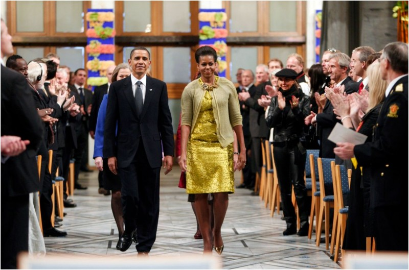 Michelle Obama in Oslo