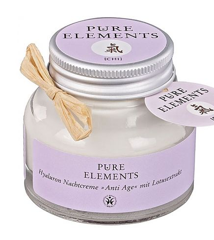 pure elements nachtcreme