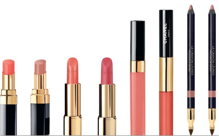 chanel beiges and nudes