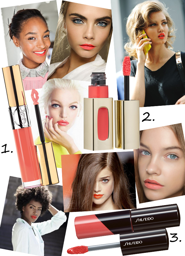 Trend: Coral Lips