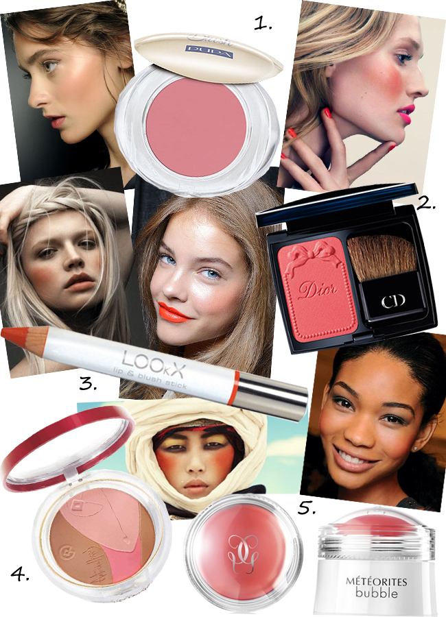 Trend: coral blushes