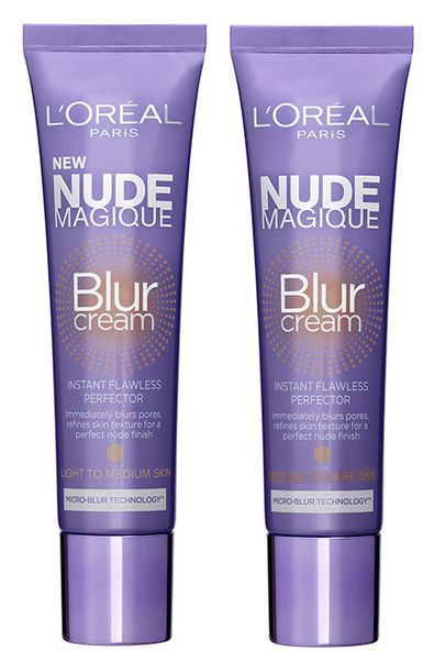 loreal nude magic blur cream