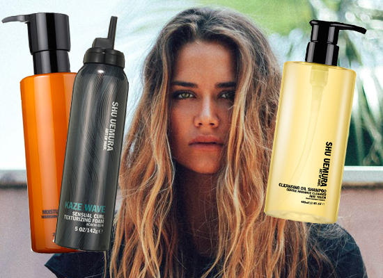 Harriet test Shu Uemera shampoos, conditioner en mousse