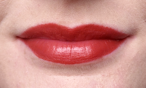 Red Clarins Rouge Éclat in Red Paprika