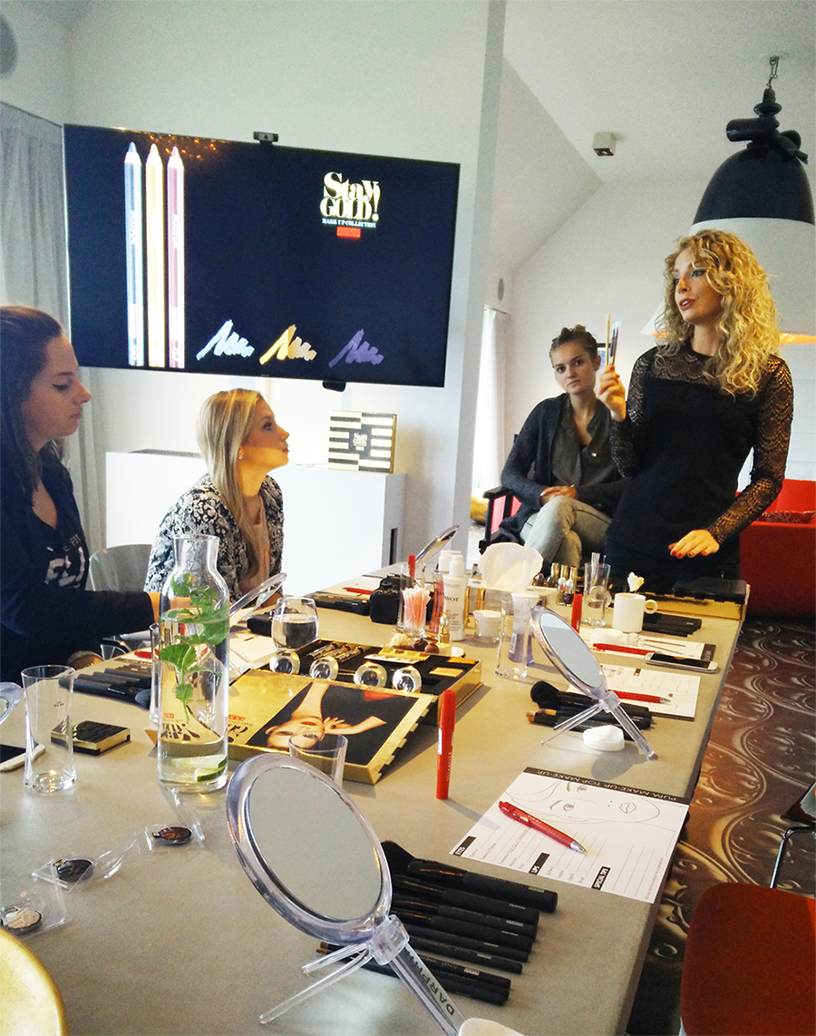 pupa milano stay gold event