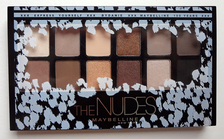 Maybelline Nudes Dicht