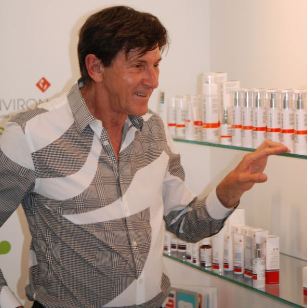 desmond fernandes with his environ products