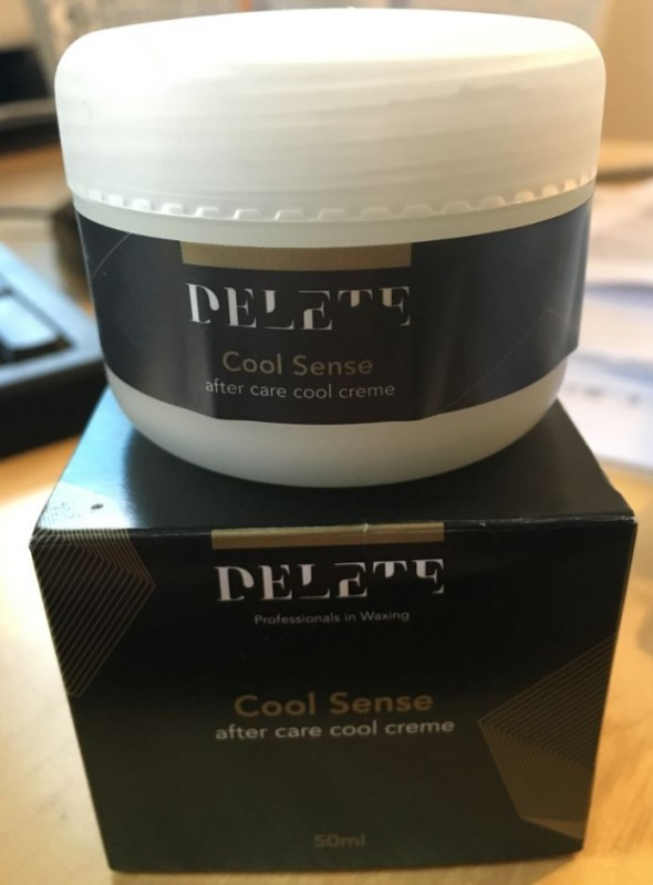 delete cool sense cream