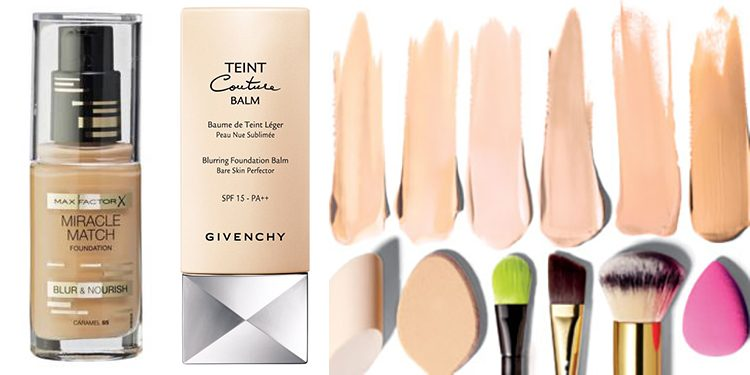 Homepage Foundations Max Factor en Givenchy